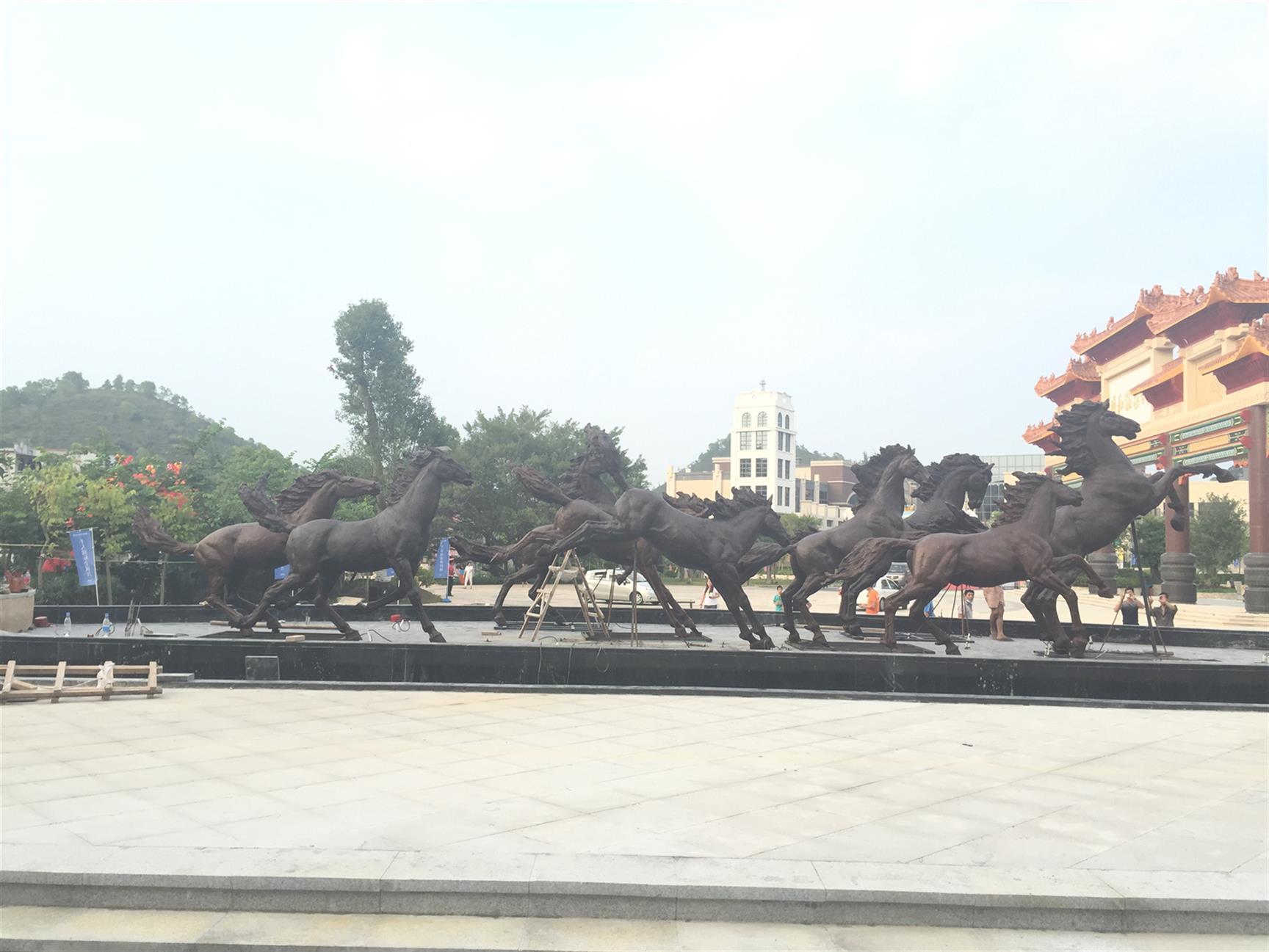汕头马雕塑