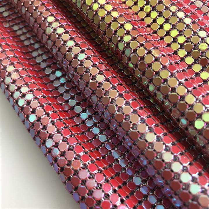 济宁金属布品牌 铝网布 金属布帘厂家