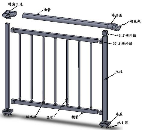 湖南锌钢护栏定制