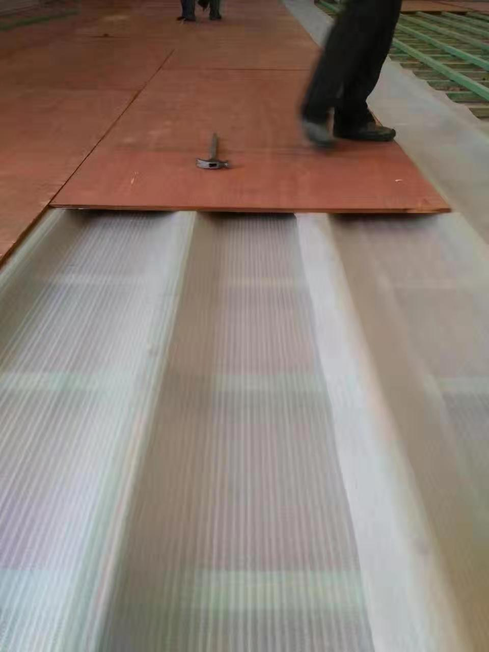 海西实木运动木地板