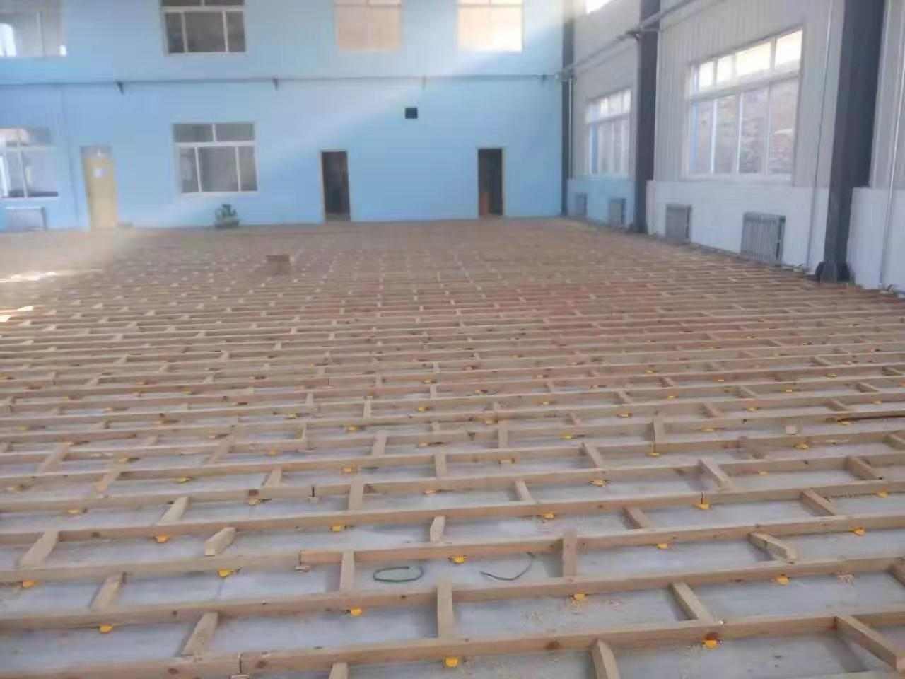 菏泽实木运动木地板