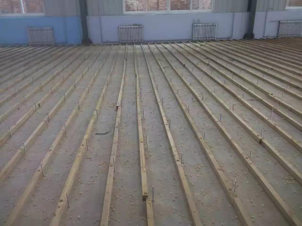 聊城实木运动木地板