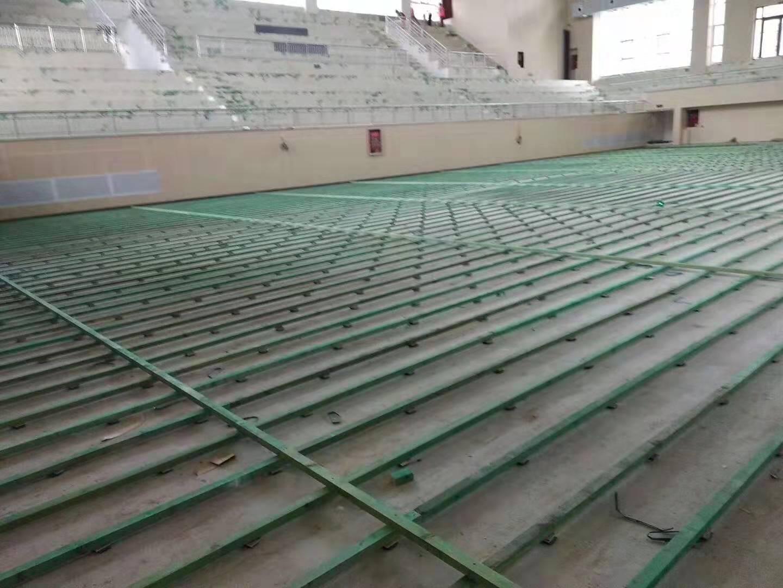 兰州体育木地板