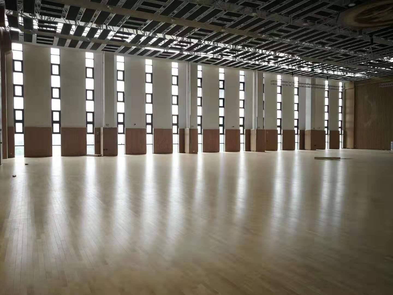 双峰枫木篮球地板