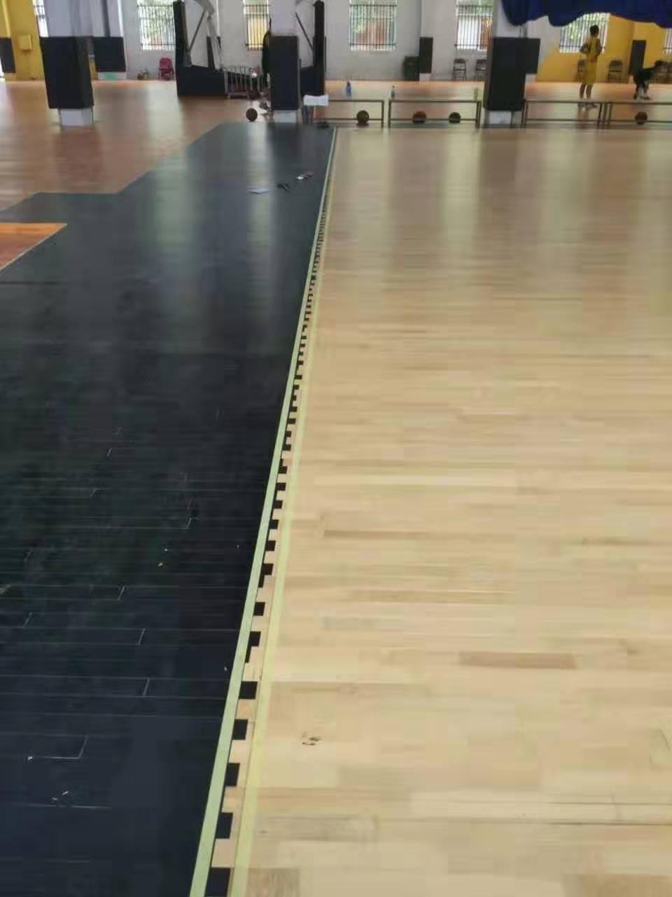 海口枫木运动木地板