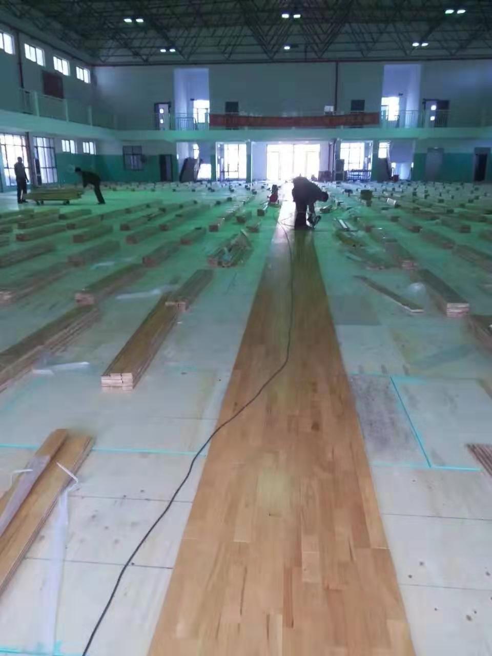 澧县枫木篮球地板