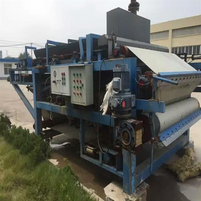 二手陶瓷原料泥浆带式浓缩一体化压滤机厂家直销