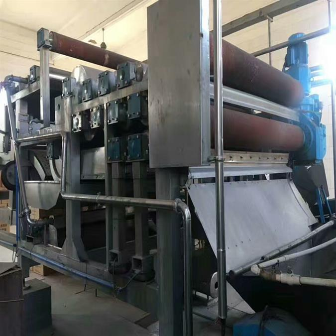 二手尾矿污泥带式浓缩一体化压滤机厂家直销