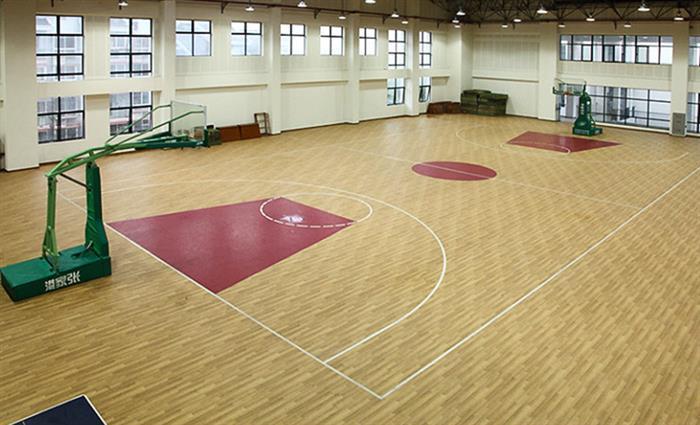 漯河篮球木地板