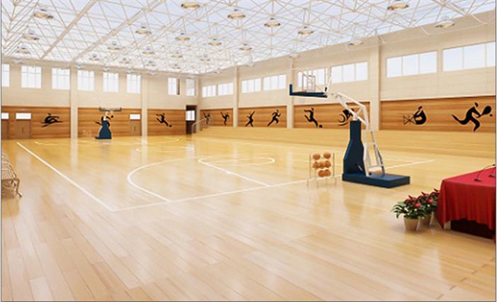 温州篮球木地板
