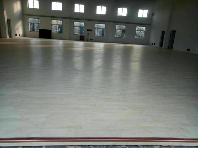 昭通篮球木地板