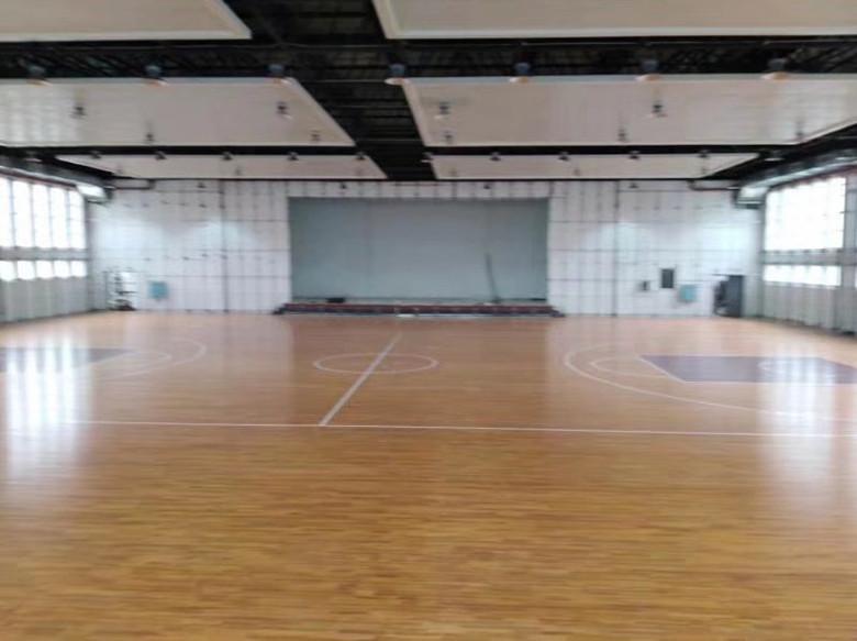 钦州篮球木地板