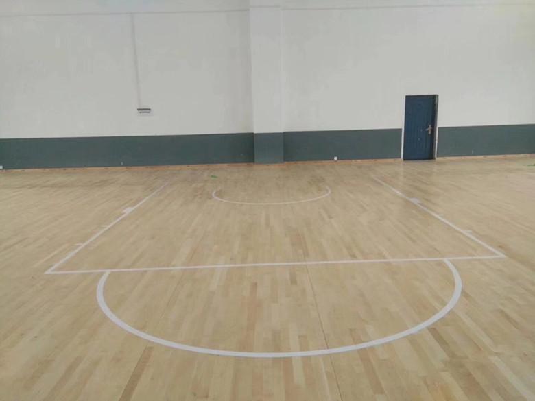 浙江篮球木地板