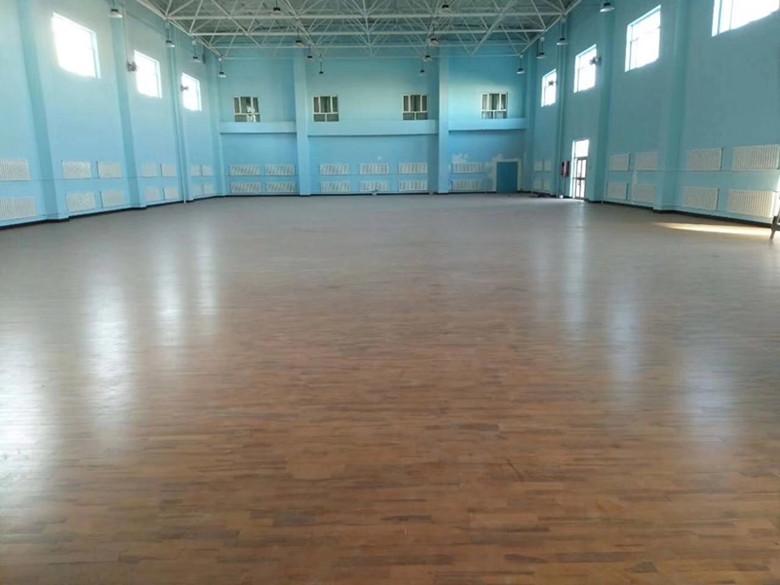 吴忠篮球木地板