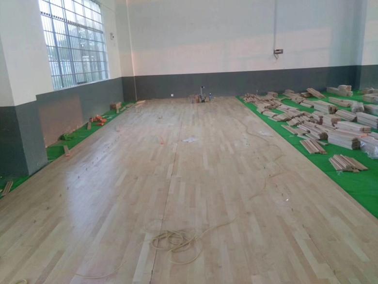 天水篮球木地板