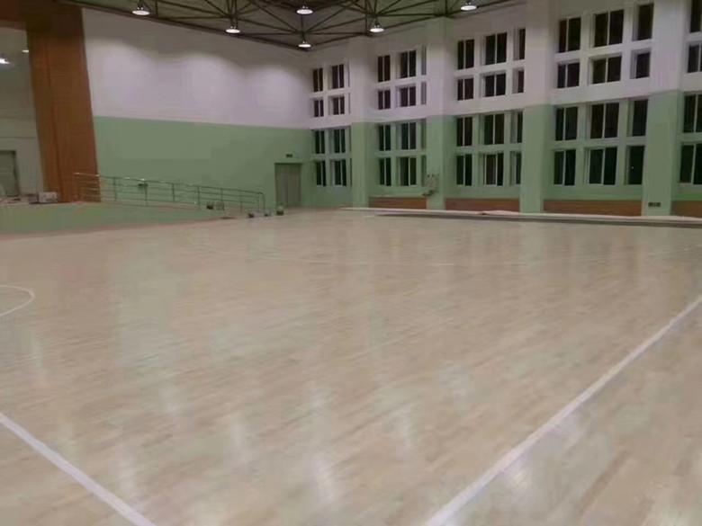 孝感篮球木地板