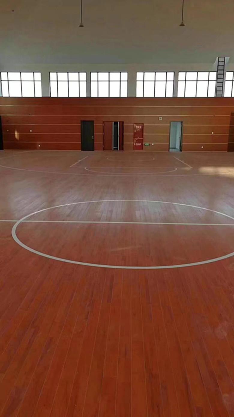 临夏篮球木地板