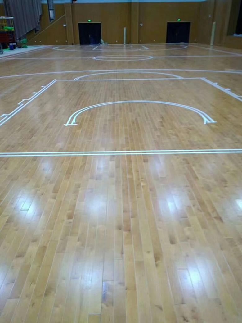 西宁篮球木地板