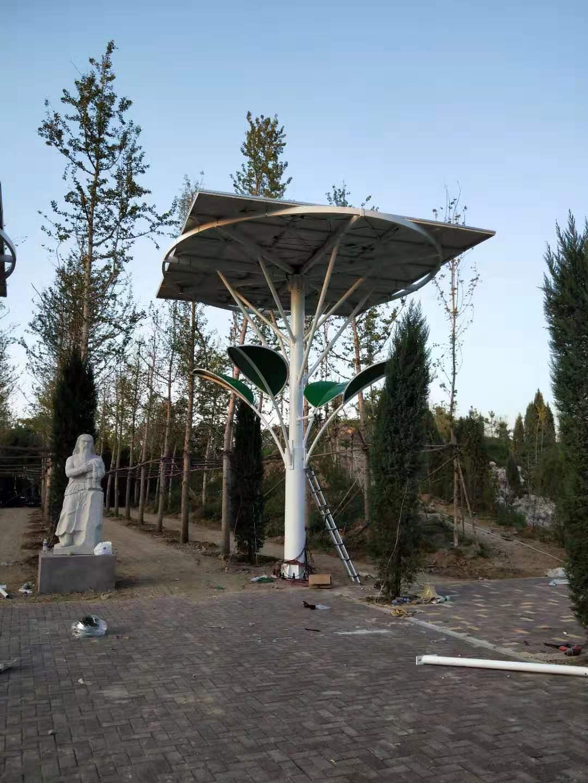 河北光伏樹廠家 首信智享景觀太陽能光伏樹