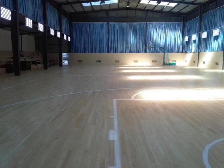 亳州硬木运动木地板