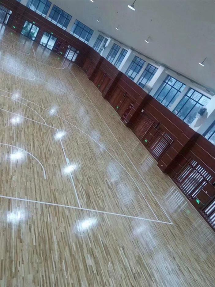 南阳舞台实木运动地板