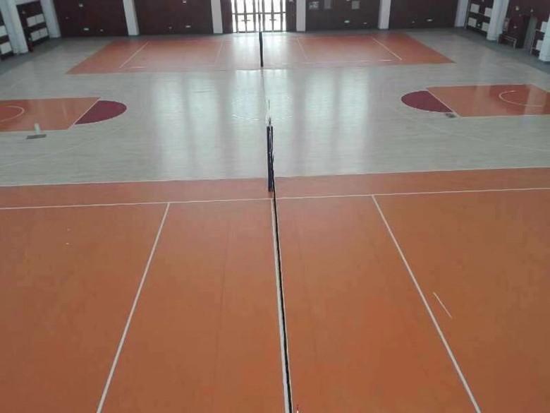 丽江室内运动场木地板