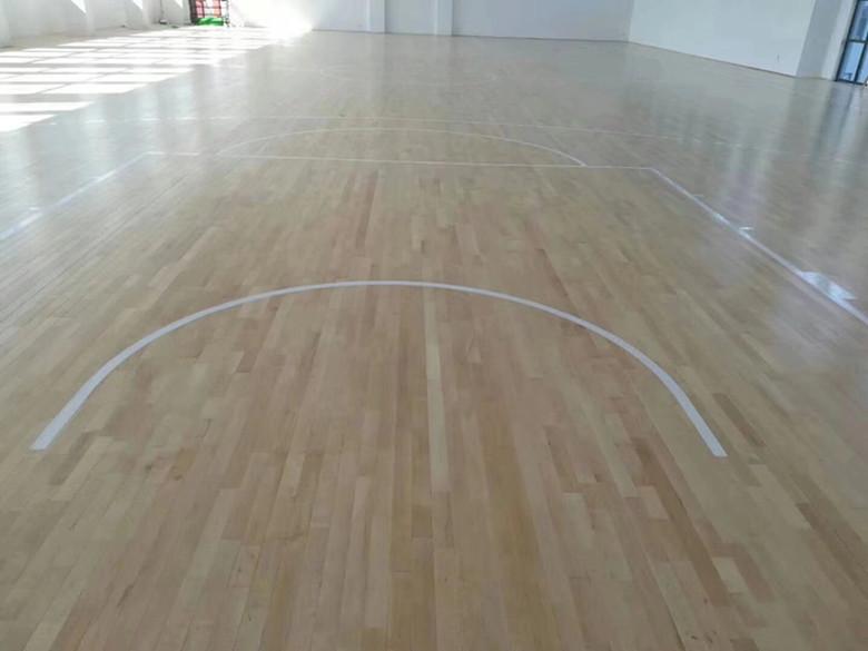 洛阳篮球硬木运动木地板