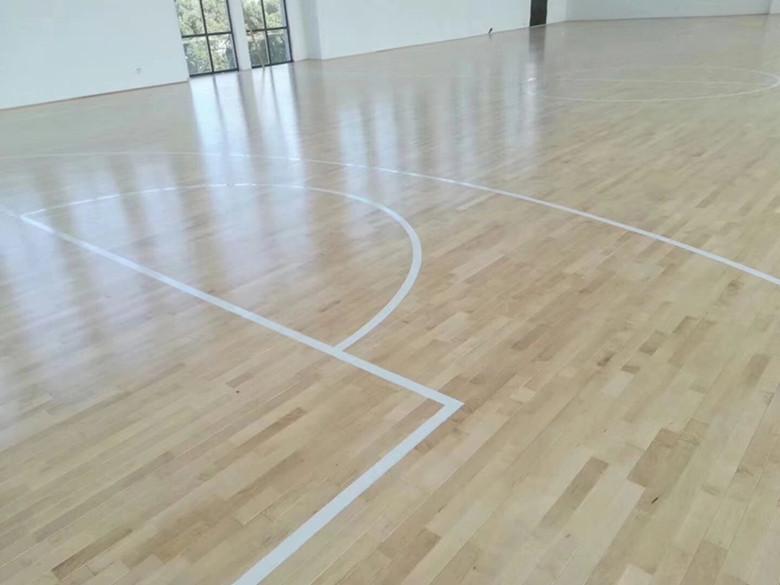 衡阳篮球硬木运动木地板