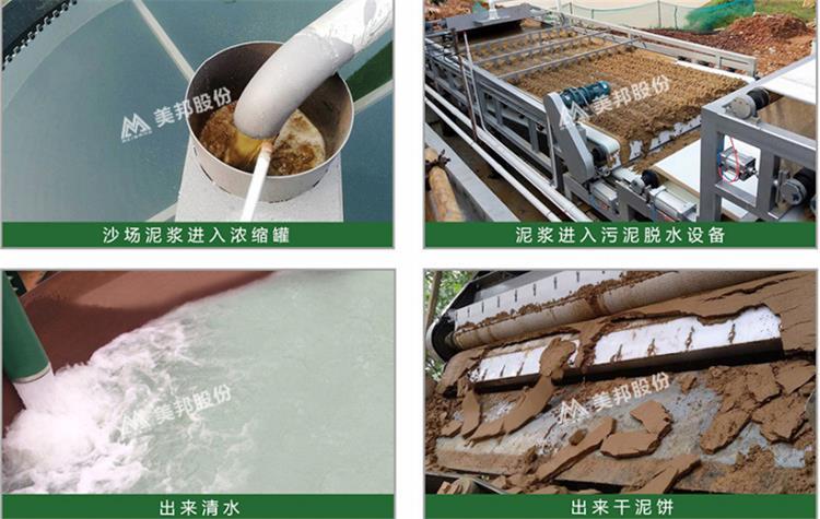 江门洗沙泥浆处理设备厂怎样操作