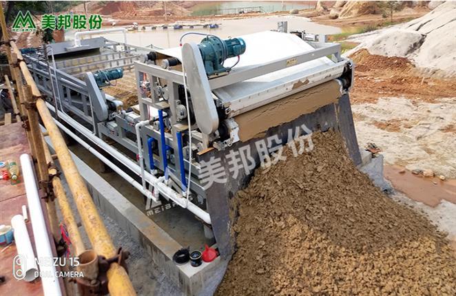 佛山洗沙厂泥浆脱水机定制