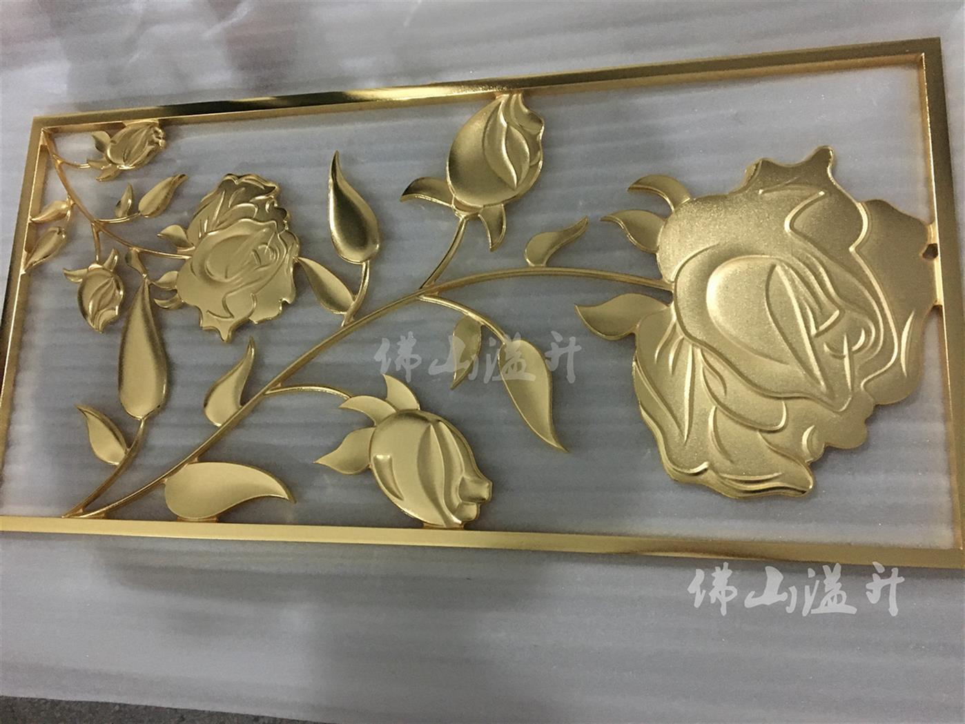 阜阳玄关铜雕花屏风公司