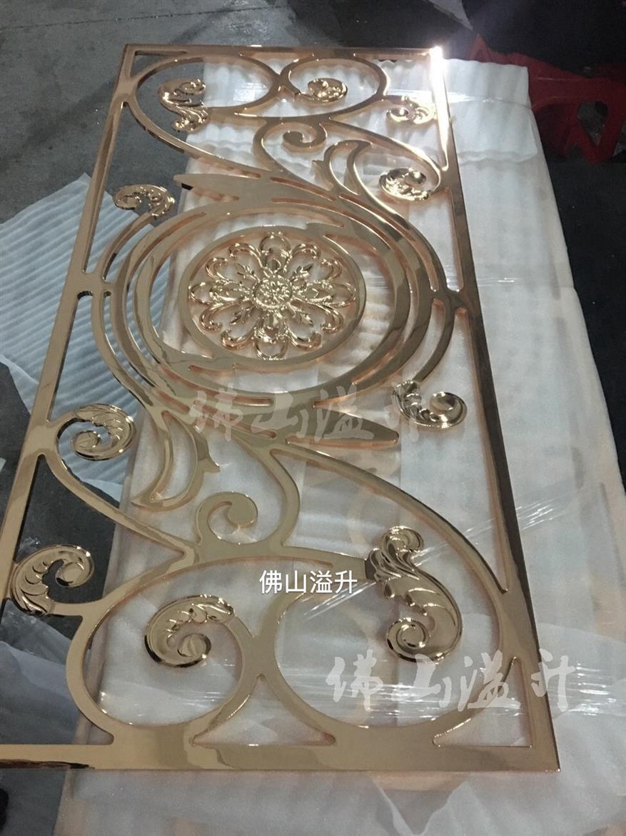 泰州定做铜雕花屏风厂
