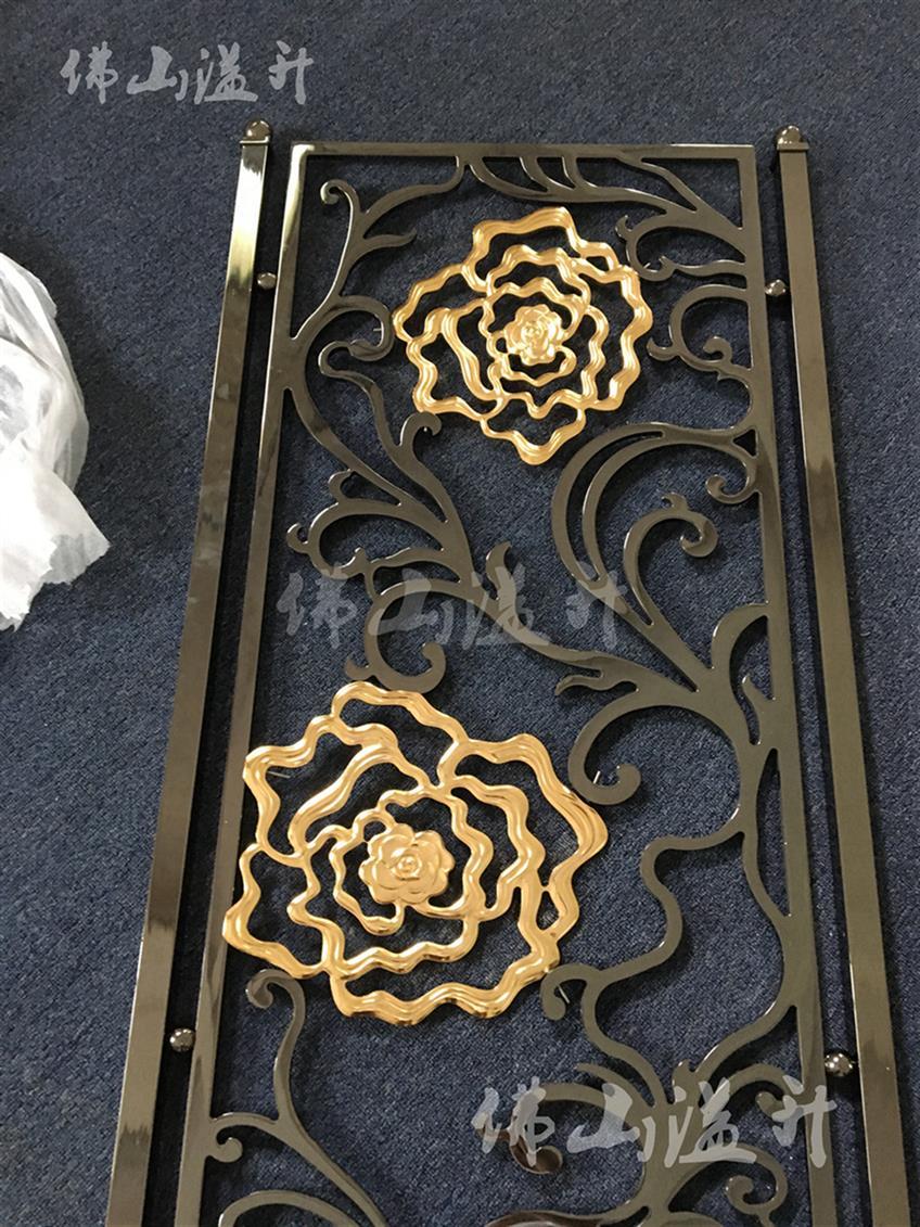 南通韩式铝板浮雕艺术屏风厂