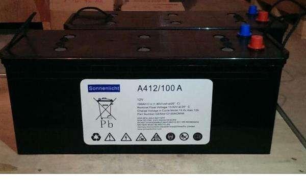 406/165A德国阳光蓄电池参数