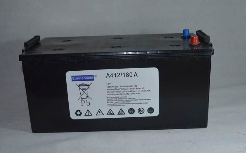 A412/50A德国阳光蓄电池原厂原装