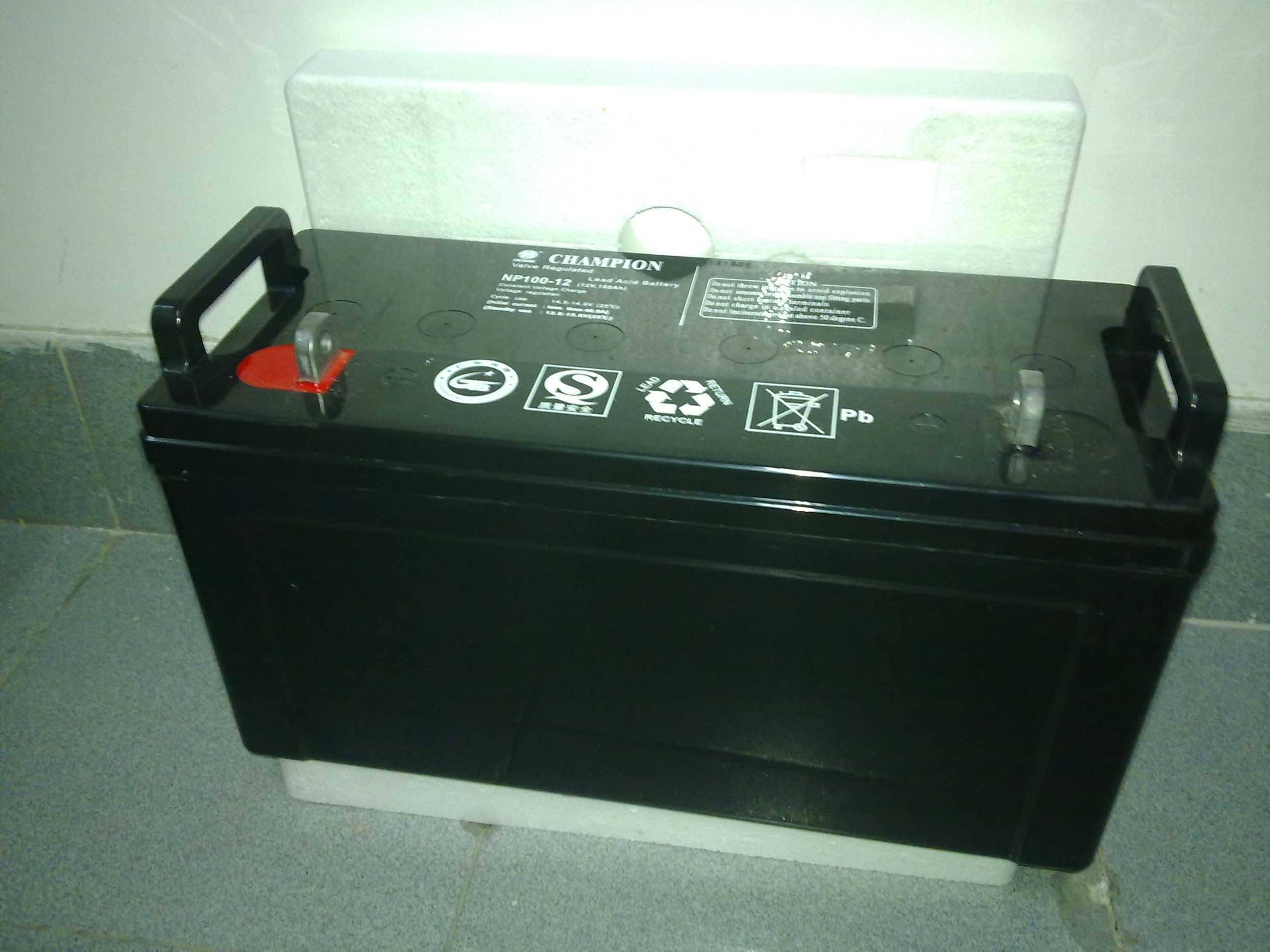 冠军蓄电池NP17-12完美设计