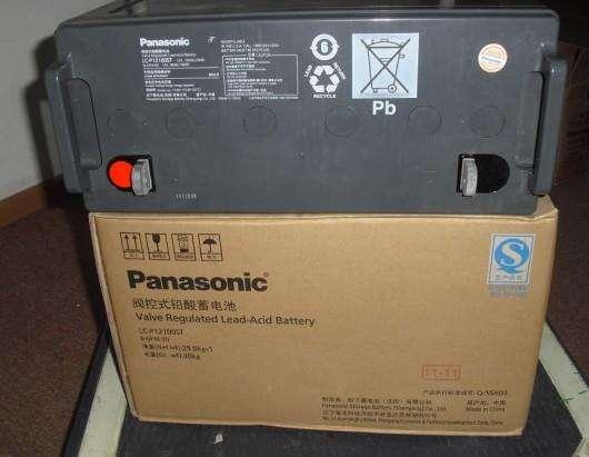 松下蓄电池LC-P1265ST厂家授权代理商