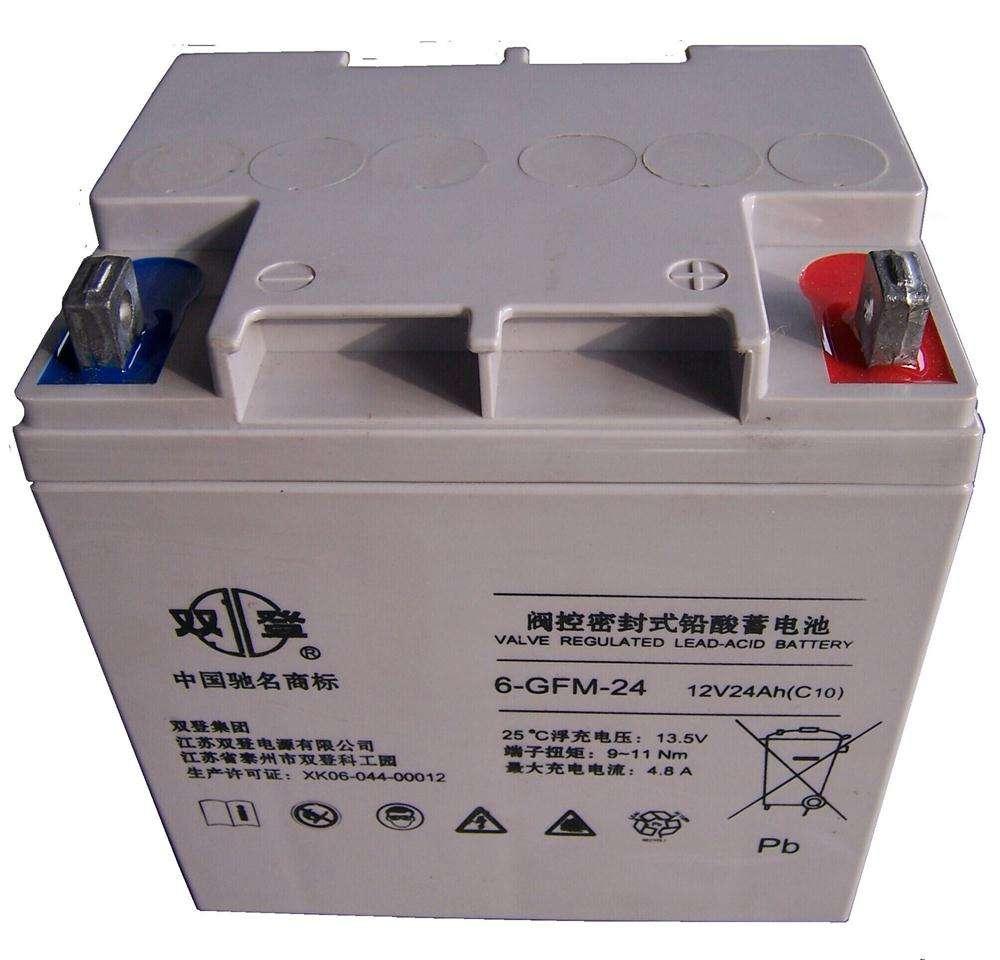 双登蓄电池6-GFM-24总代理