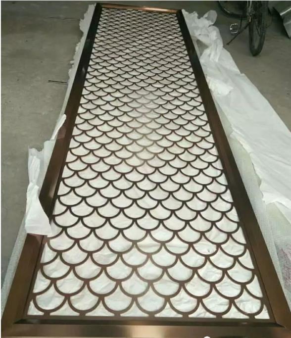 无锡精品铜板雕刻屏风隔断厂