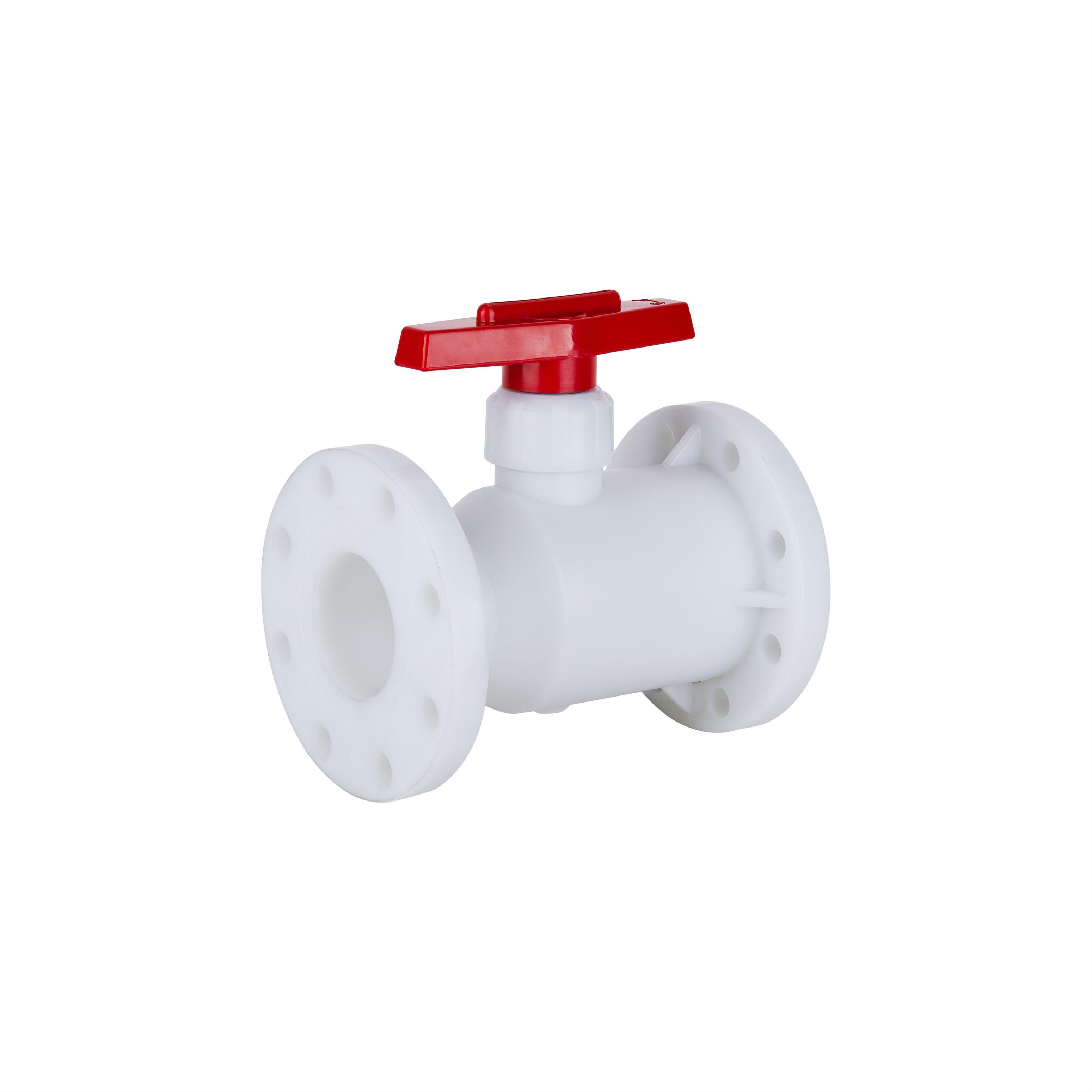 PVDF塑料法兰球阀法兰球阀生产厂家
