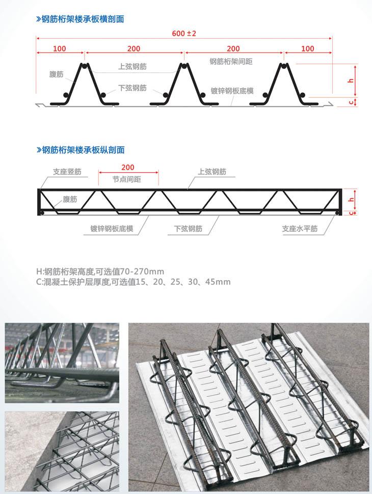 邯郸钢筋桁架楼承板厂
