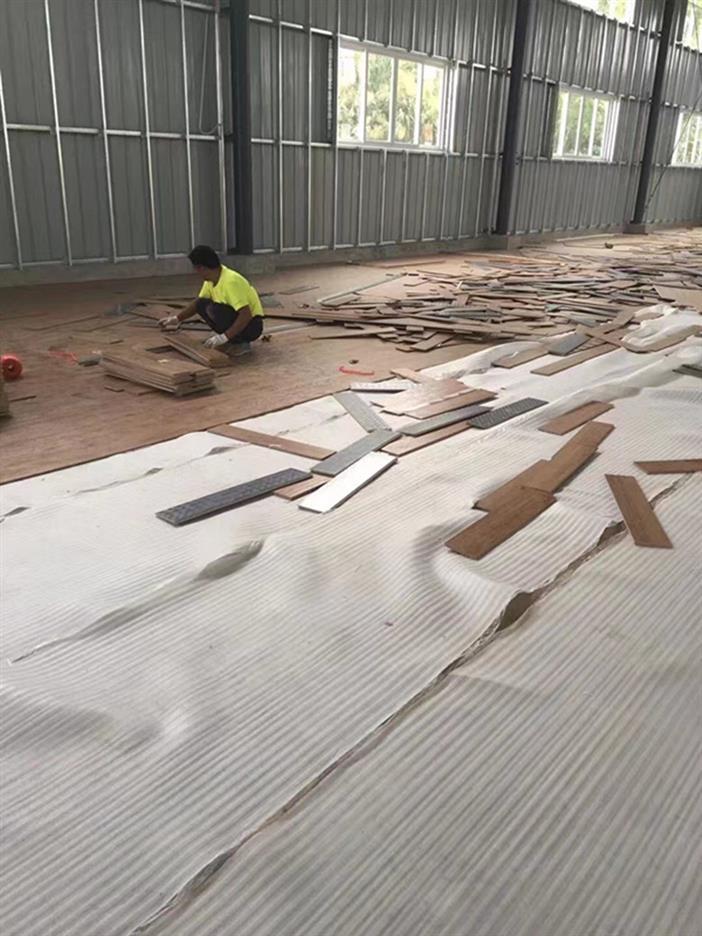 广州篮球硬木运动木地板