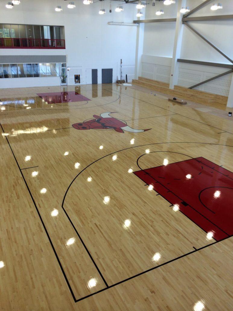阿里篮球硬木运动木地板