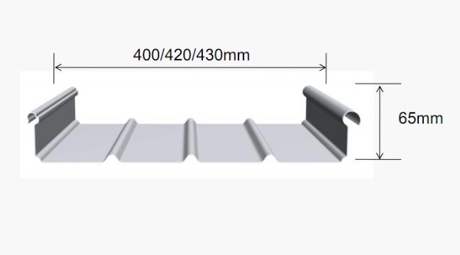 宁波铝镁锰板65-430