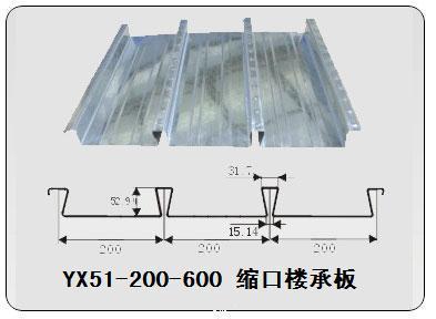 YXB40-185-740闭口楼承板