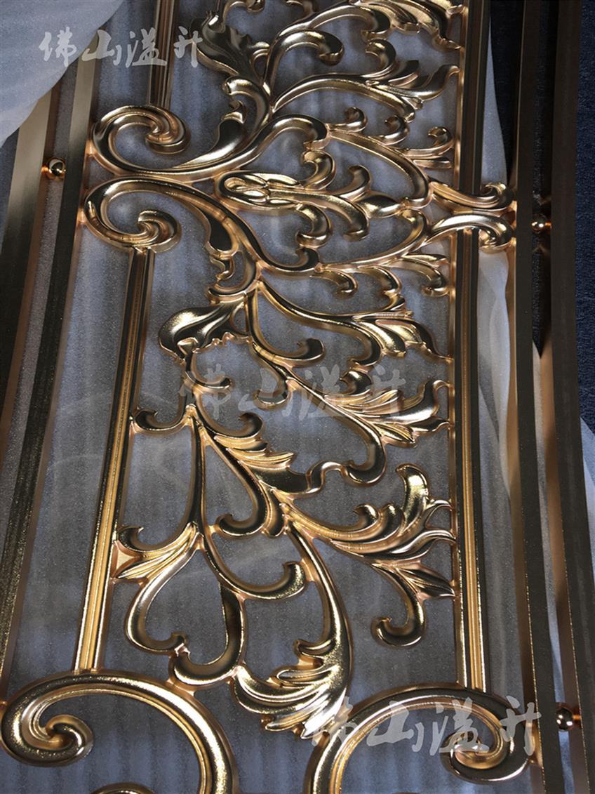 杭州艺术设计款铜屏风出售