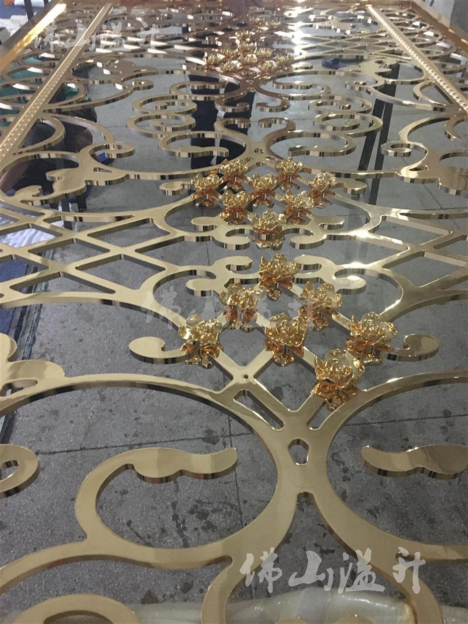荆州艺术设计款铜屏风制作