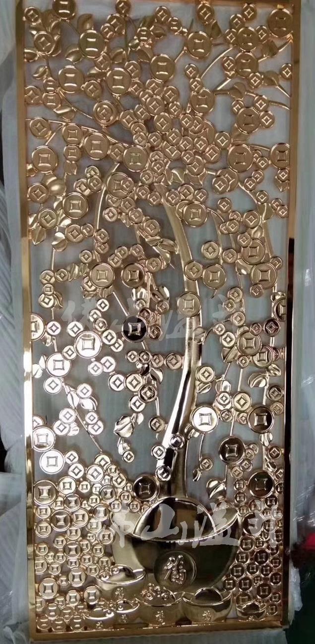 大庆艺术设计款铜屏风费用