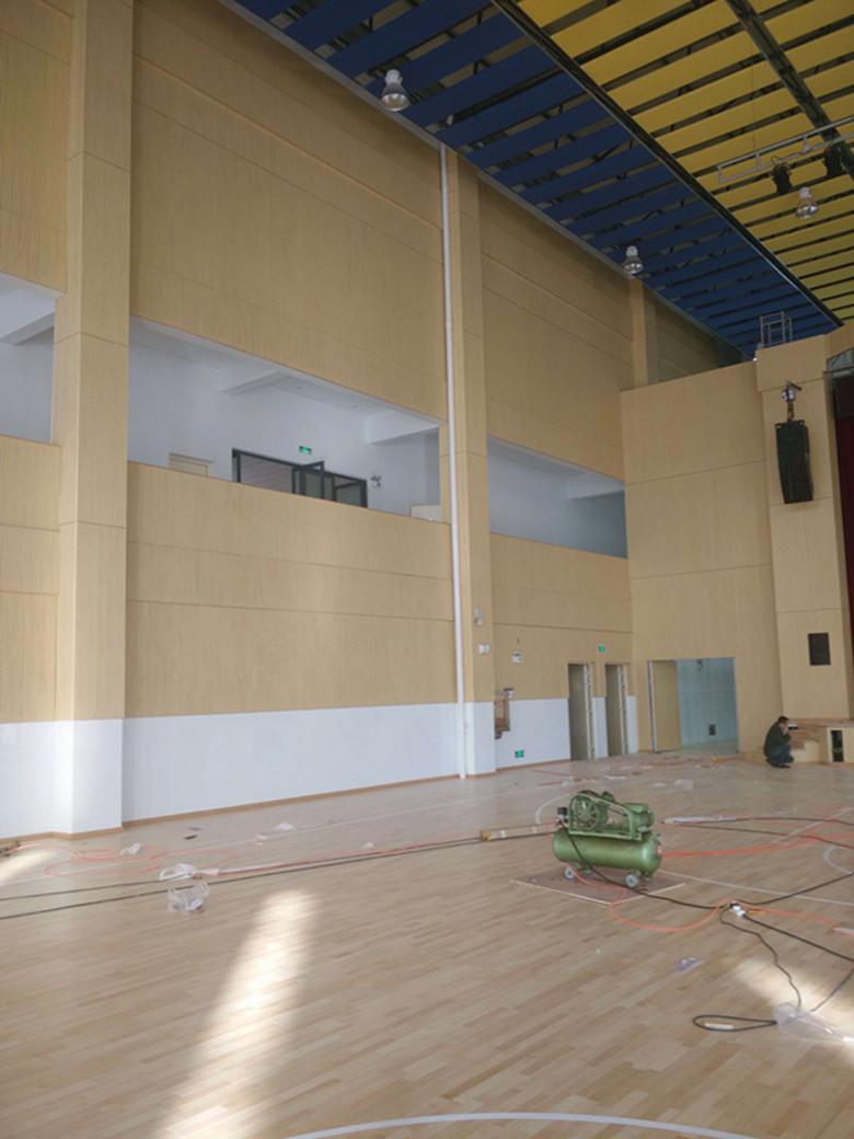金华剧院室内运动场木地板