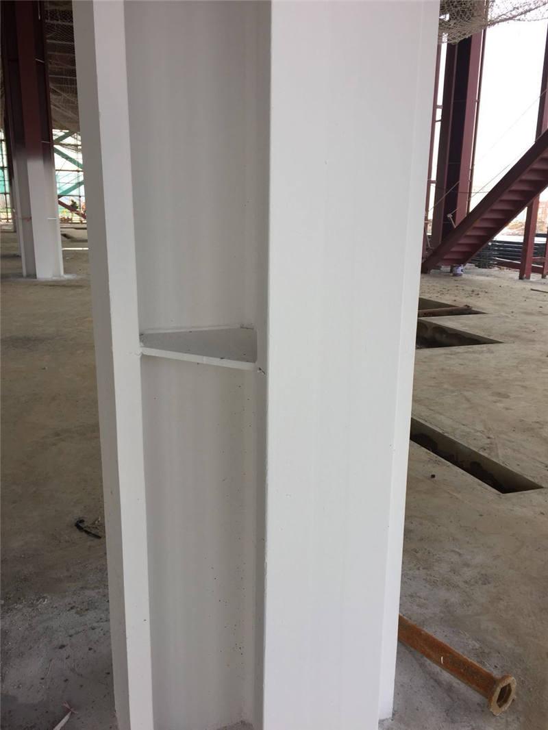 九江厚型钢结构防火涂料施工